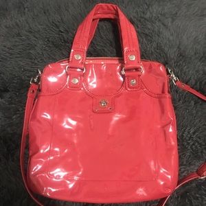 MARC By Marc Jacobs Cherry Patent Leather Bag
